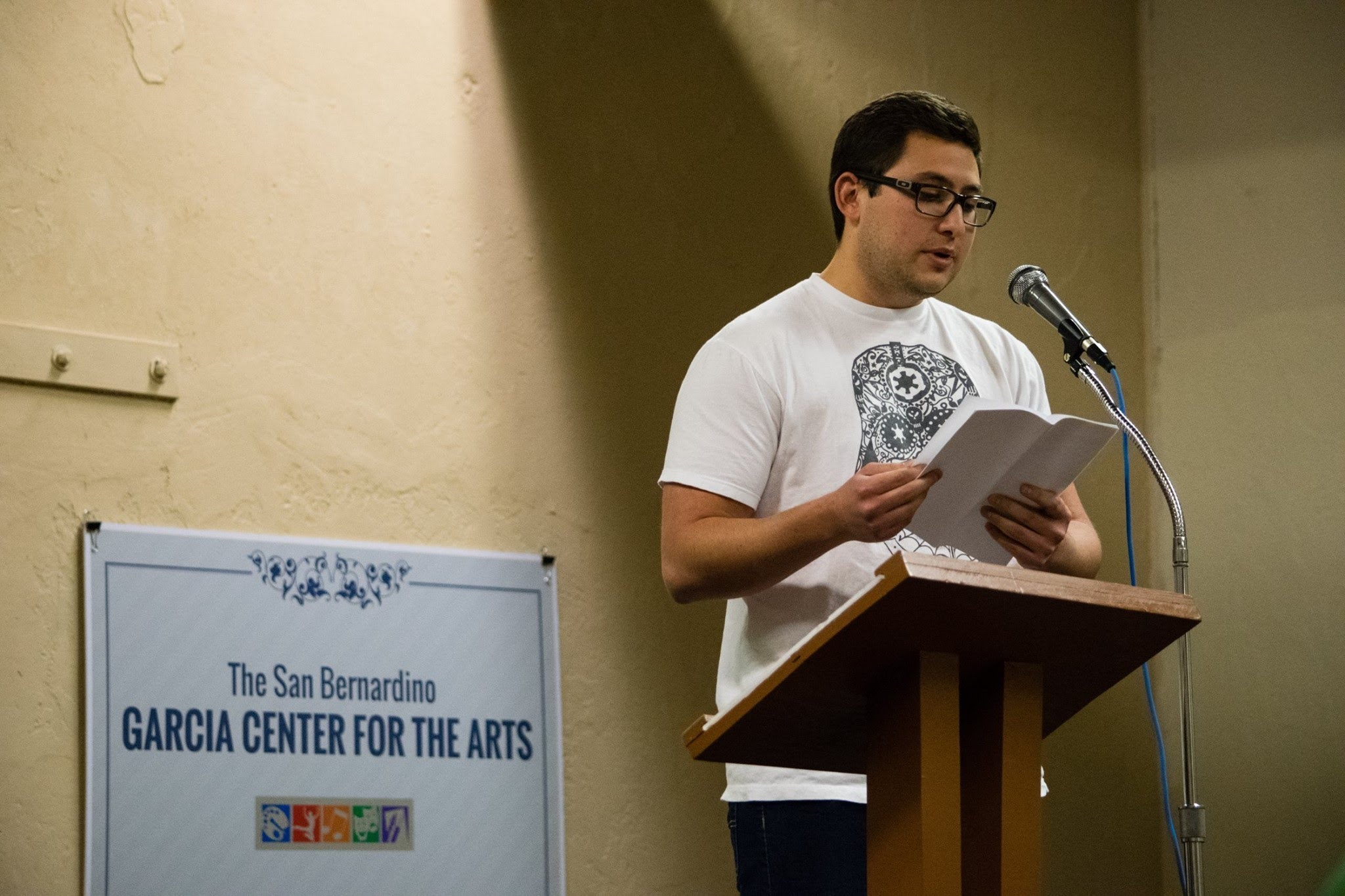 A Reading at the Garcia Center