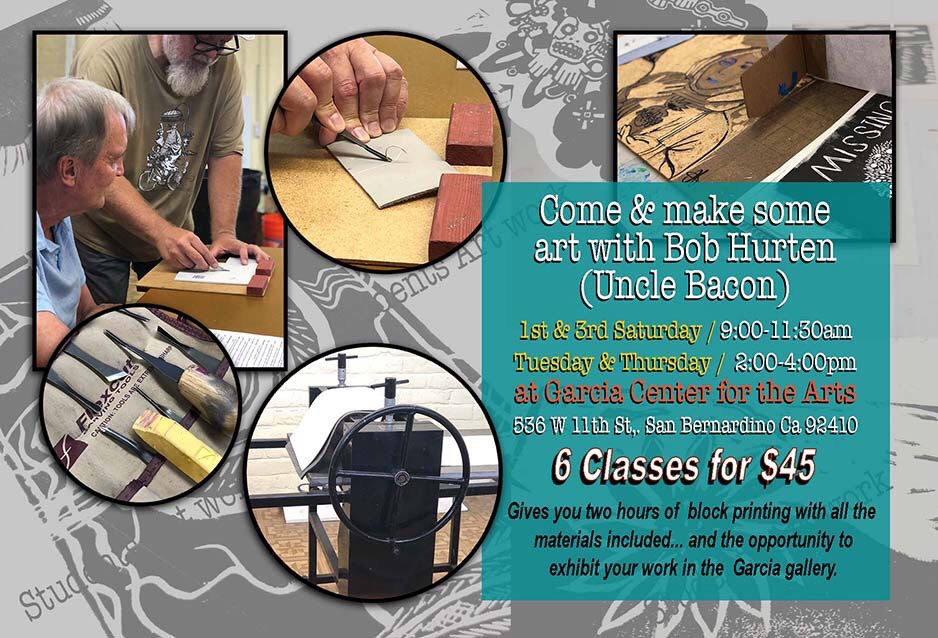 Opportunities to Work on Printmaking