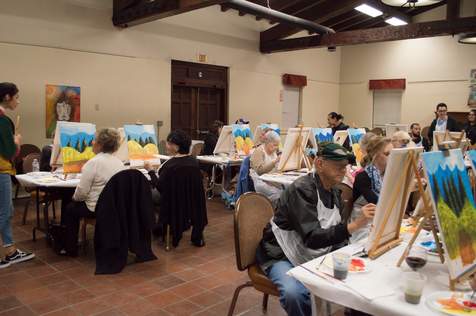 Spirits and Arts Painting Event