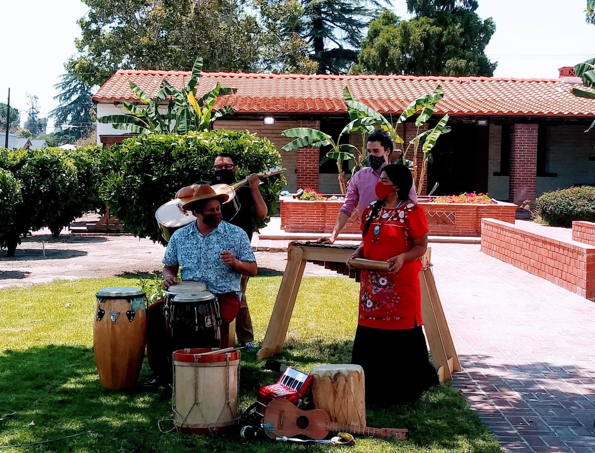 Musical Performance by Milpa