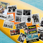 Surfboard with Musician Photos