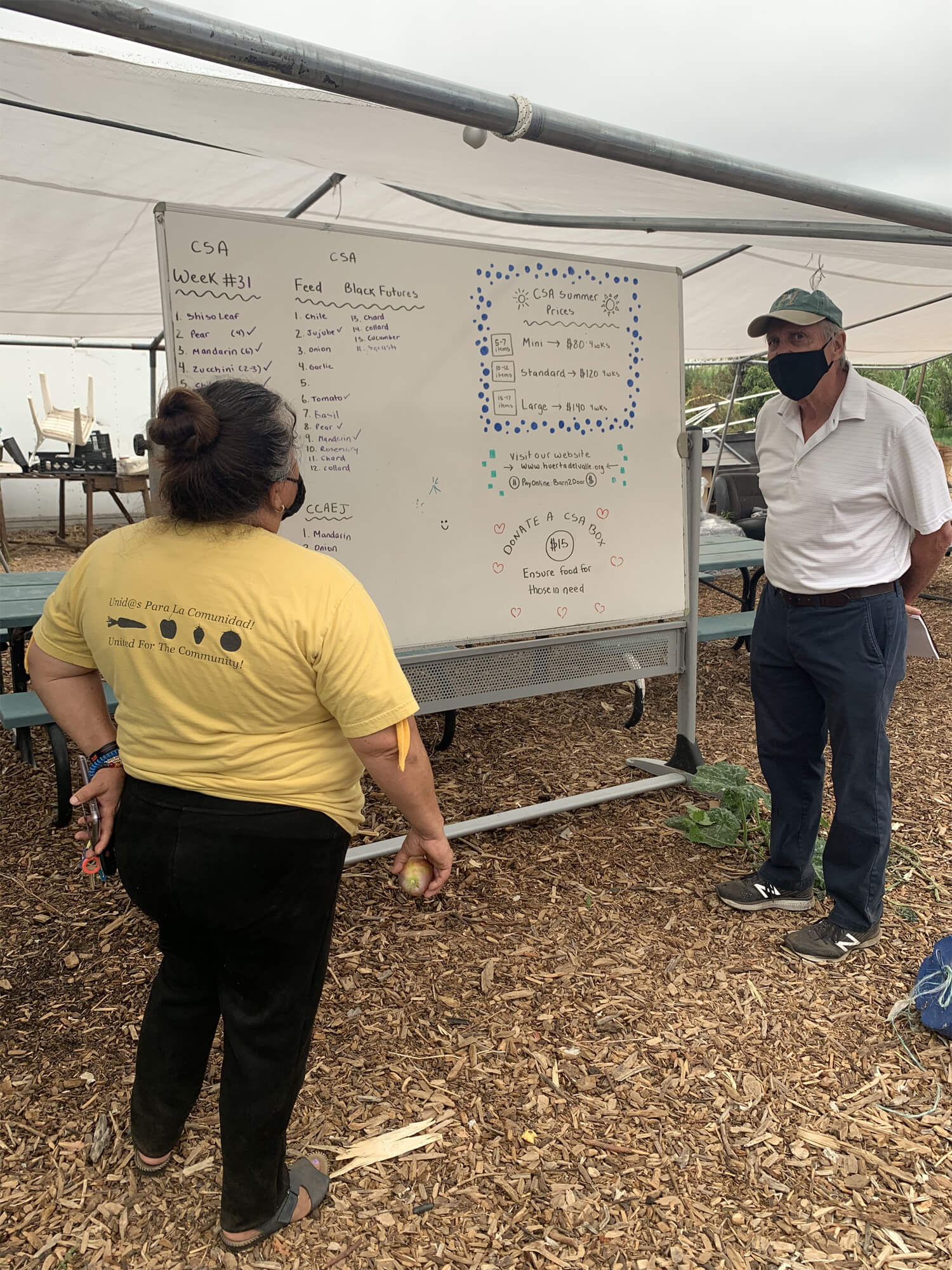 Ideas for Plants and Pricing for Community Garden