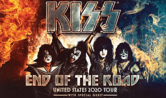 KISS End of the Road United States 2020 Tour