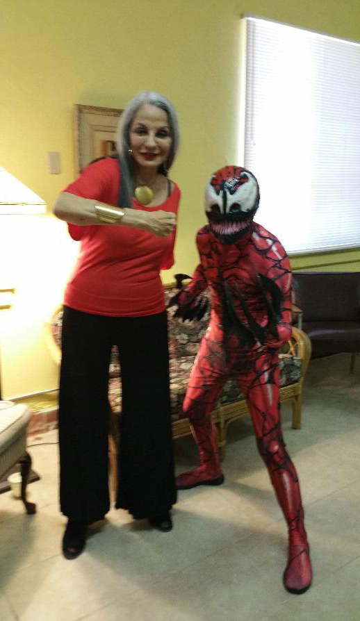 Former Mayor Judith Valles and Carnage