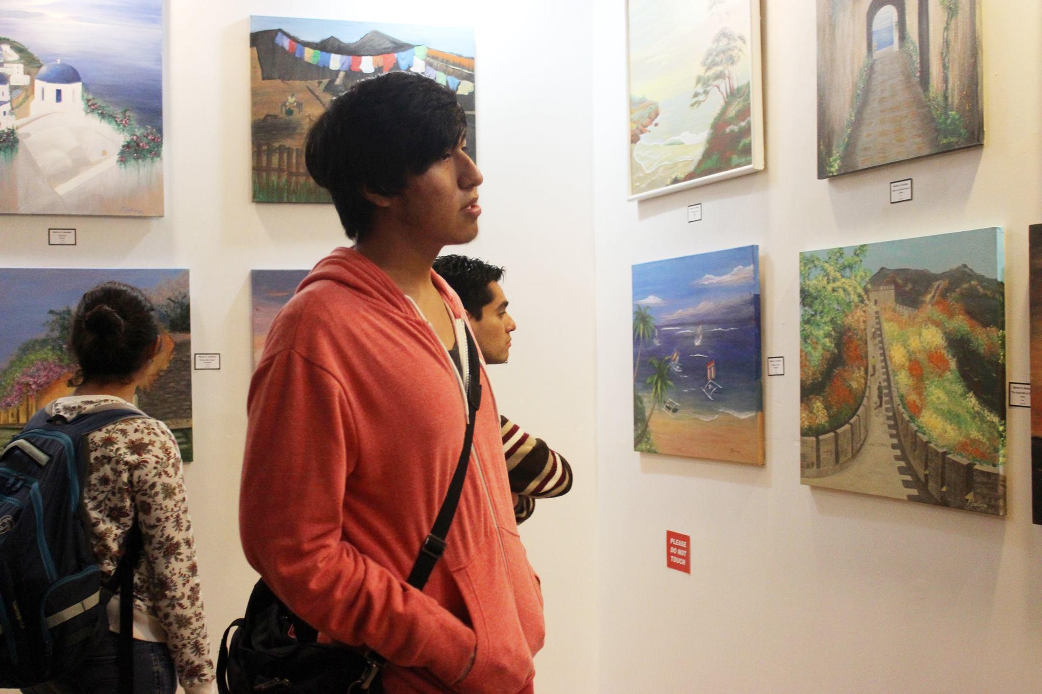 Fabian Torres Photo of Marilou Santiago Exhibit