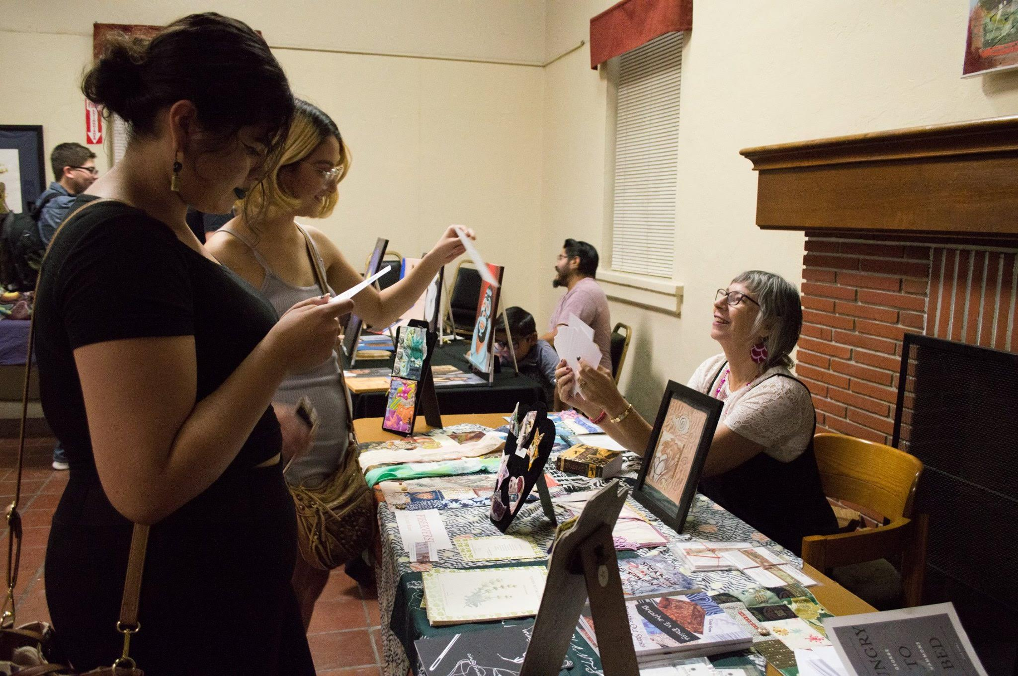 Local Artists Showcase Work at Booths