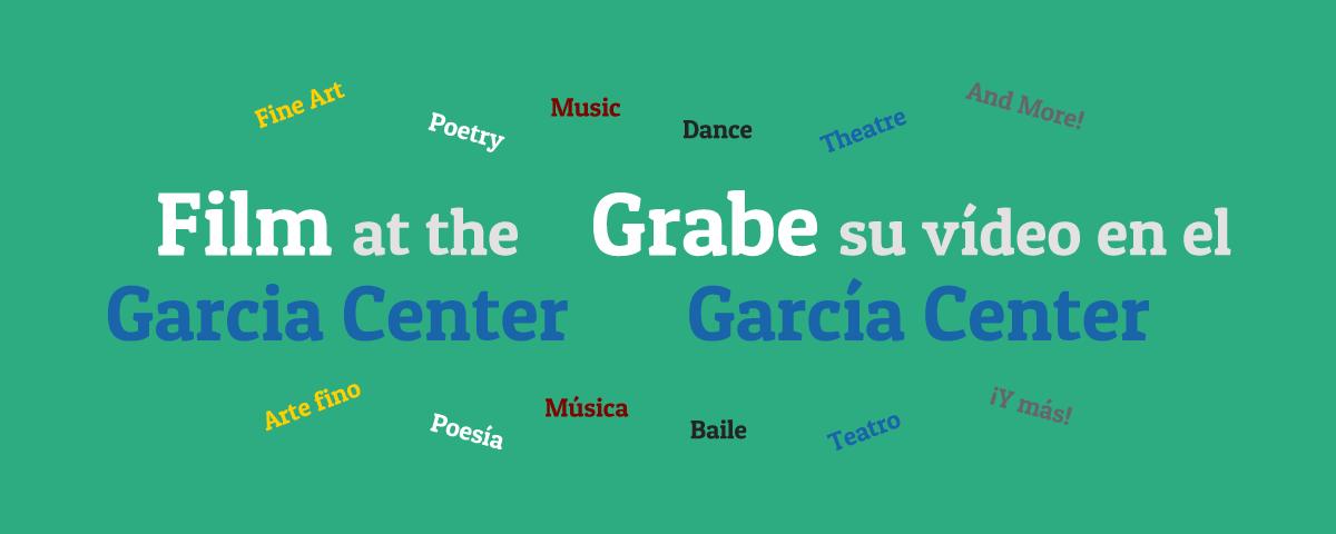 Film at the Garcia Center Grabe su video en el Garica Center