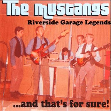 The Mustangs Riverside Garage Legends Album Cover