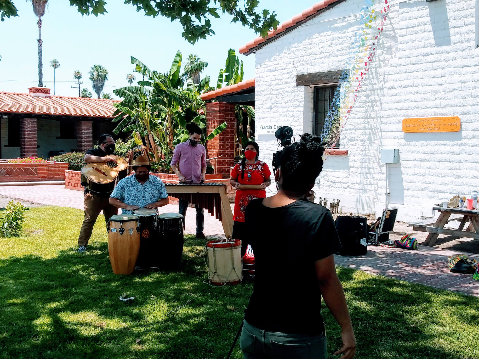 Outdoor Music Performance by Milpa