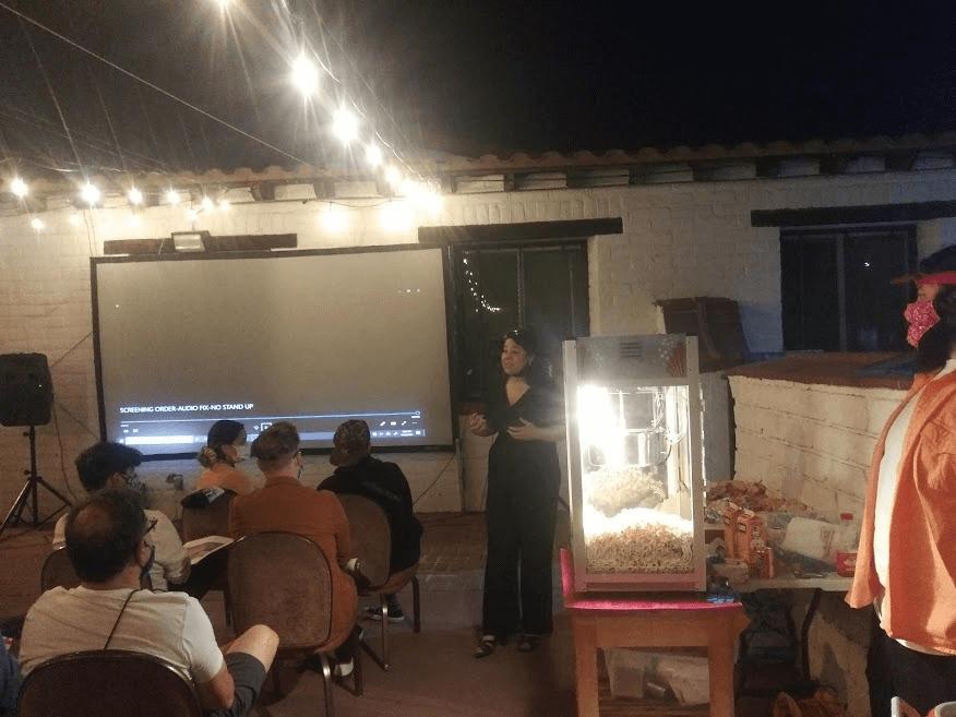 Tamara Cedre Presents Her Project