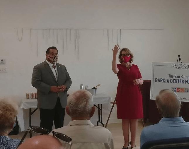 James Ramos and Eloise Gomez Reyes
