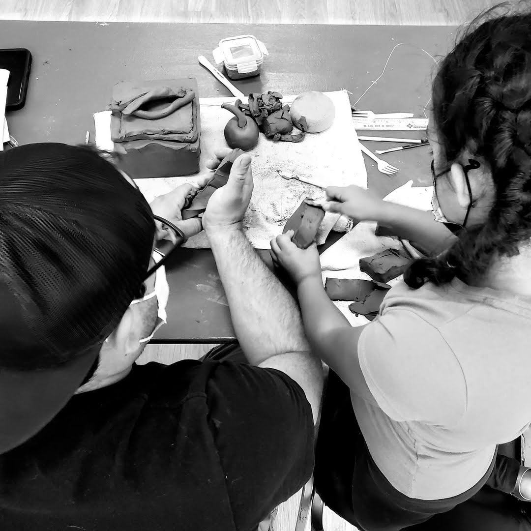 Materials for Storytelling with Clay Workshop